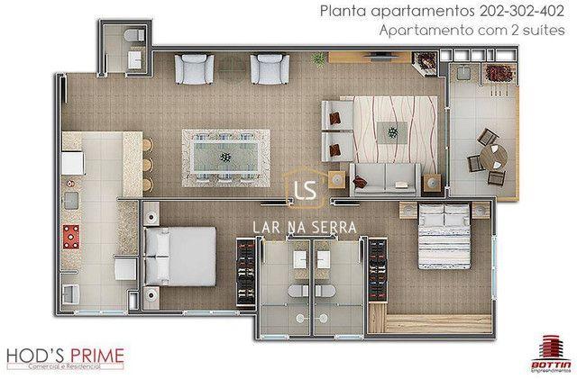 Apartamento com 2 dormitórios à venda, 124 m² por R$ 560.000,00 - Centro - Canela/RS - Foto 7