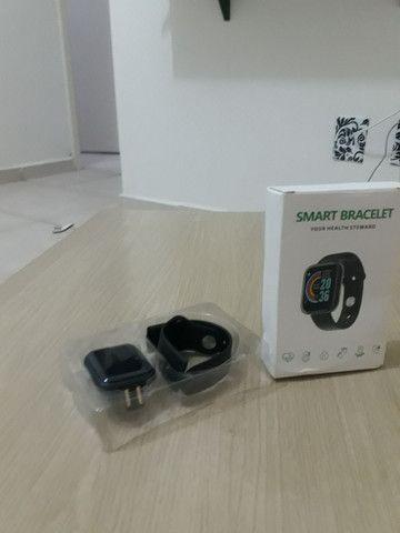 Smartwatch y68 À Prova D 'Àgua entrega Grátis curitiba - Foto 3