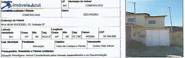 CASA NO BAIRRO SAO PEDRO EM ESMERALDAS-MG