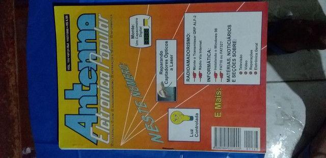 Revistas Antenna Eletrônica Popular  - Foto 4