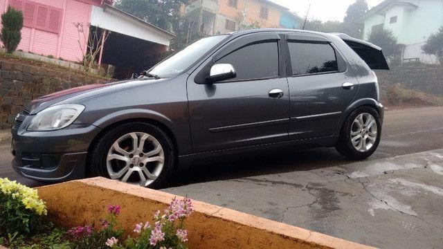 Celta LT 1.0 2012 Completo, Baixa KM, Legalizado. - Foto 3