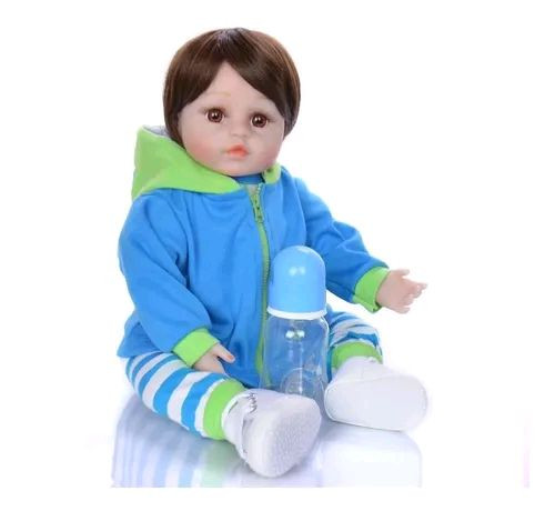 Boneco Menino Com Acessórios Boneca De Brinquedo Crianças<br><br><br><br><br> - Foto 4