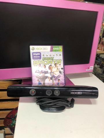 Kinect para xbox 360 + jogo original apenas 60,00
