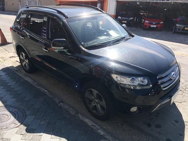 Hyundai Santa Fe Gls 3.5 2013 Automática Aceito Troca
