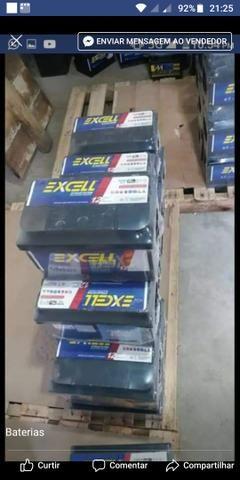 Baterias Excell 70 amperes 12 Meses de garantia