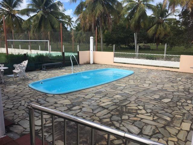 Chácara com espaço gourmet, piscina, salão de jogos, campo gramado. No Mosqueiro - Foto 12