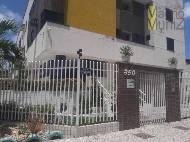 Apartamento com 1 dormitório para alugar, 39 m² por r$ 780/mês - centro - fortaleza/ce