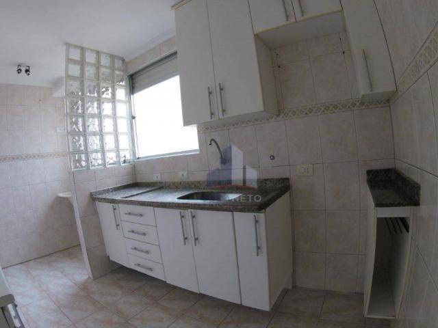 Apartamento com 2 dormitórios para alugar, 52 m² por r$ 1.350/mês - parque são vicente - m - Foto 3