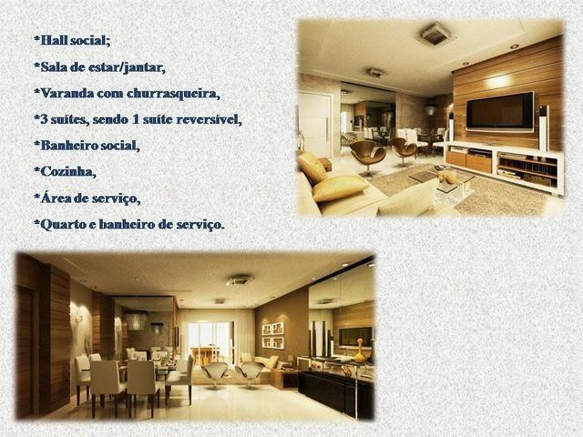 Excelente apartamento com 3 suítes em lagoa nova - Foto 8