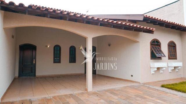 Casa com 3 dormitórios para alugar, 200 m² por r$ 2.100,00/mês - novo aeroporto - londrina - Foto 8