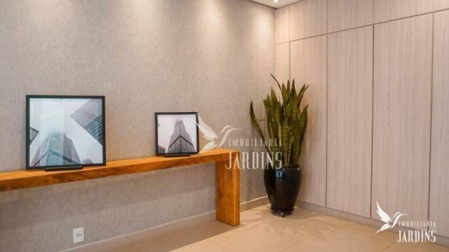 Apartamento com 3 dormitórios para alugar, 70 m² por r$ 1.400,00/mês - centro - londrina/p
