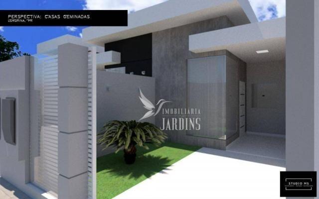 Casa com 2 dormitórios à venda, 68 m² por R$ 190.000 - Columbia - Londrina/PR - Foto 4