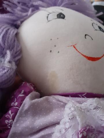Boneca de pano LEIA - Foto 2