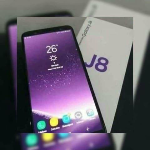 J8 novo nenhuma marca de uso
