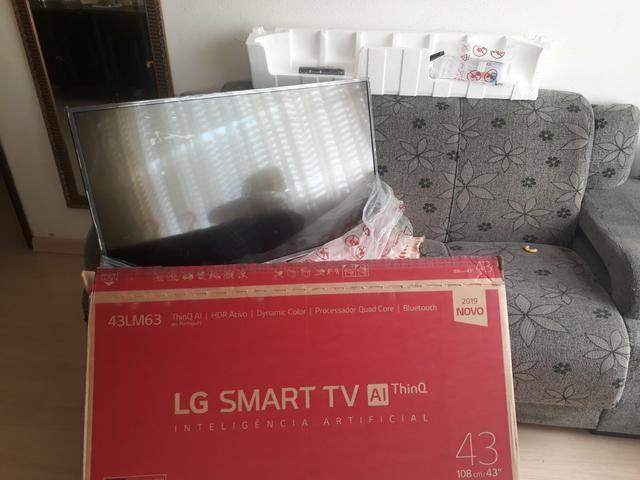 Smart TV LED 43? LG Full HD Wi-Fi - Inteligência Artificial 3 HDMI 2 USB dinheiro urgente. - Foto 2