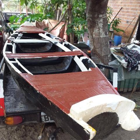 Vendo canoa de madeira - Foto 2