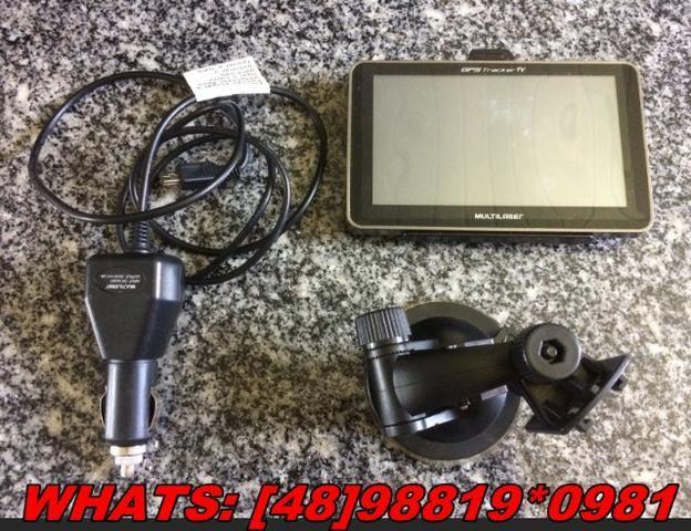 GPS Automotivo Multilaser Tracker,5 Pol. TV Digital!