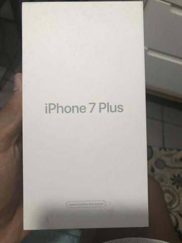Caixa de iPhone 7plus