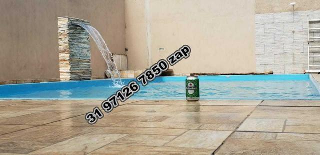 Urgente-Sítio Barato c/ Piscina-Casa Colonial Branca-3 qts-Pomar-Toda Murada-TOP - Foto 10