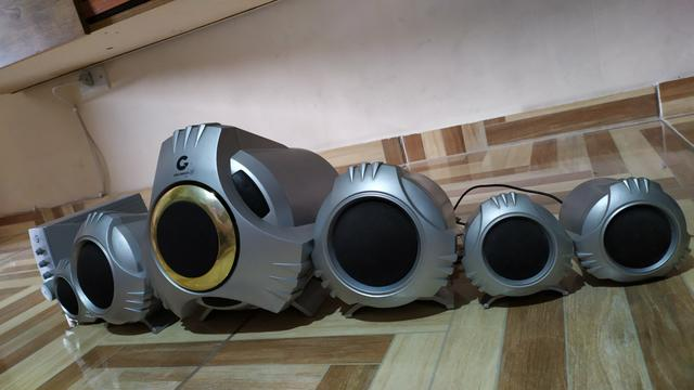 Home theater goldship 5.1 - Foto 2
