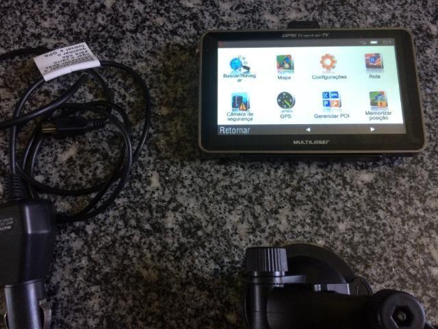 GPS Automotivo Multilaser Tracker,5 Pol. TV Digital! - Foto 3