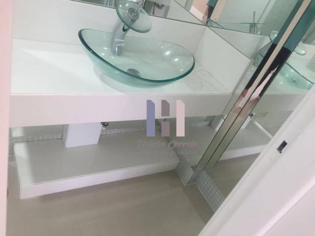 Apartamento com 4 dormitórios para alugar, 208 m² por r$ 4.500,00 - petrópolis - natal/rn - Foto 15