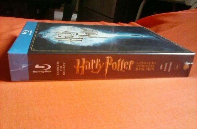 Box Harry Potter Completo Bluray - NOVO - Foto 2