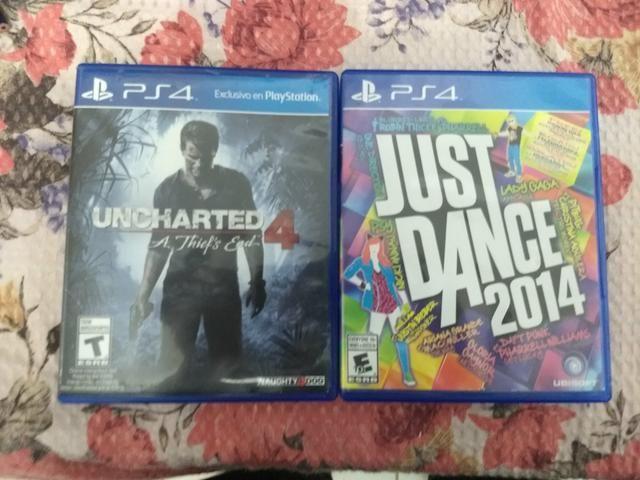2 jogos originais pra PS4 promoção