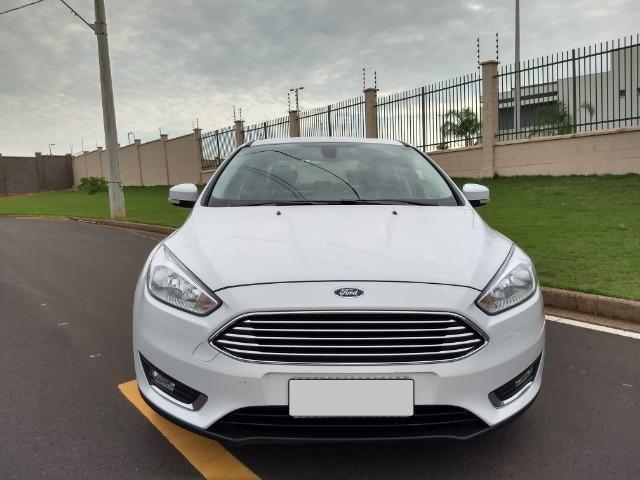 Ford Focus Titanuim 2016 Completíssimo, todas as revisões na concessionária - Foto 5