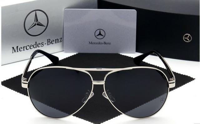 Óculos de sol lentes polarizadas Mercedes Benz Original novo ( Caixa ) 4f05174084