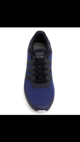 fc3d2a5ab57 Tênis Adidas CF Race Azul - Roupas e calçados - Sítio da Figueira ...
