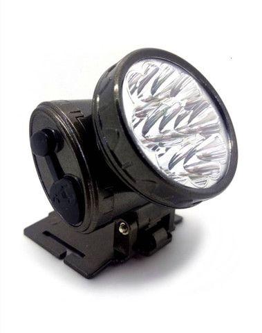 Lanterna de Cabeça Recarregável 13 Leds YJ-1898 - Foto 3
