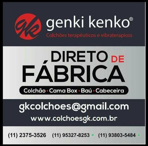 Cama Box baú solteiro em corino (12 parcelas R $ 44.50 ) - Foto 2