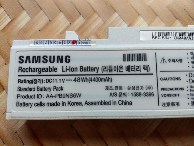 Bateria notebook Samsung - Foto 4