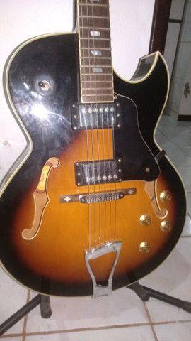 1400 Reais, Tagima Jazz semi-acustica - Foto 5
