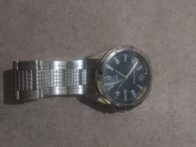 Relógio pulseira de aço à prova d'água - Foto 2