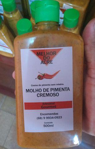 MOLHO DE PIMENTA CREMOSO - Foto 3