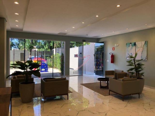 Apto novo no Ed. Iguassu Falls Residence, com 1 suíte, sala com sacada e vaga de garagem - Foto 18