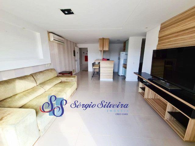 Apartamento no Porto das Dunas vista mar com 3 quartos pé na areia Beach living