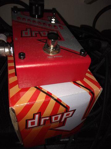Pedal Drop Digitech, para guitarra e contrabaixo. - Foto 3