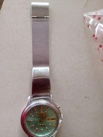Relógio masculino Orient três estrelas top demais  - Foto 4