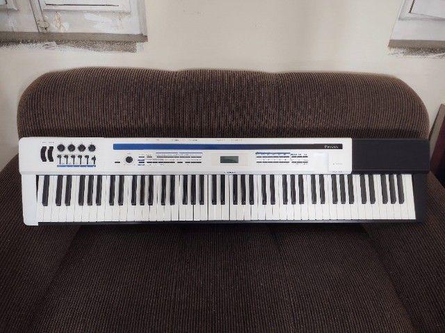 Piano Casio Privia PX5-S completo. Teclado Sintetizador. Impecável. Sem marcas de uso. - Foto 2