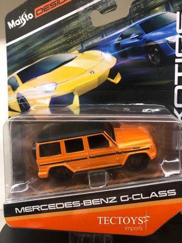 Miniatura Carro Mercedes Benz G-class 1:64 Maisto Design - Foto 4