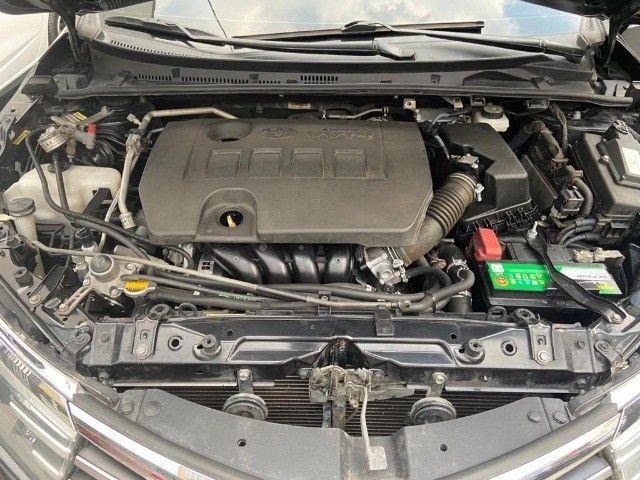 Toyota Corolla XEi 2.0 Aut + couro + gnv + multimídia - Valor real sem pegadinhas! - Foto 12
