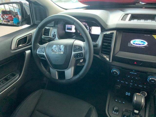 Ranger XLT Turbo Diesel 4x4 AT Modelo 2022! - Foto 12