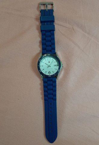 Relógio Tommy Hilfiger azul  - Foto 3