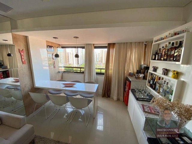 Apartamento no Espaço Catalunya com 3 dormitórios à venda, 105 m² por R$ 675.000 - Varjota