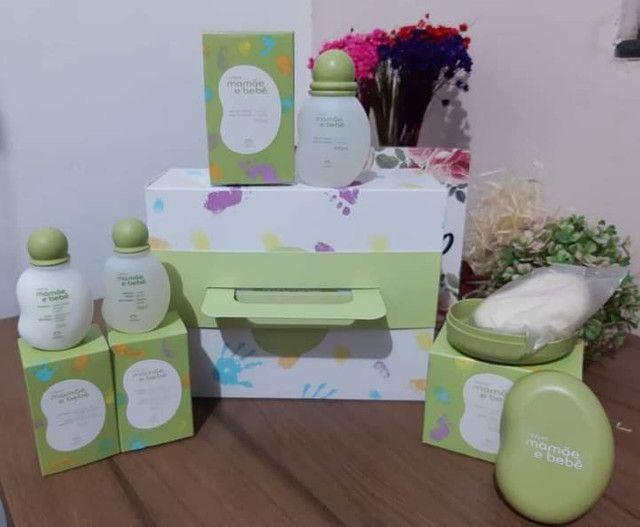 Promoção kit Mamãe e bebê Natura