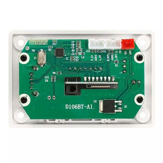 Placa de leitura de áudio Bluetooth USB FM - Foto 4