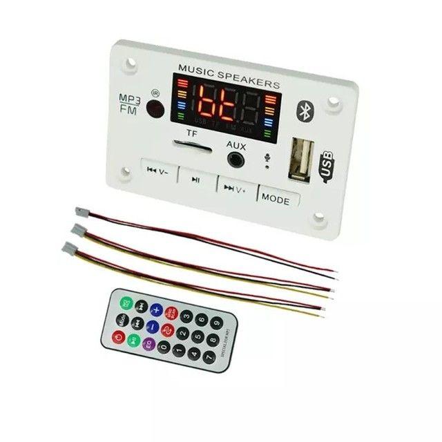 Placa de leitura de áudio Bluetooth USB FM - Foto 2